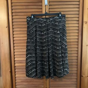Lularoe Pleated Madison Skirt